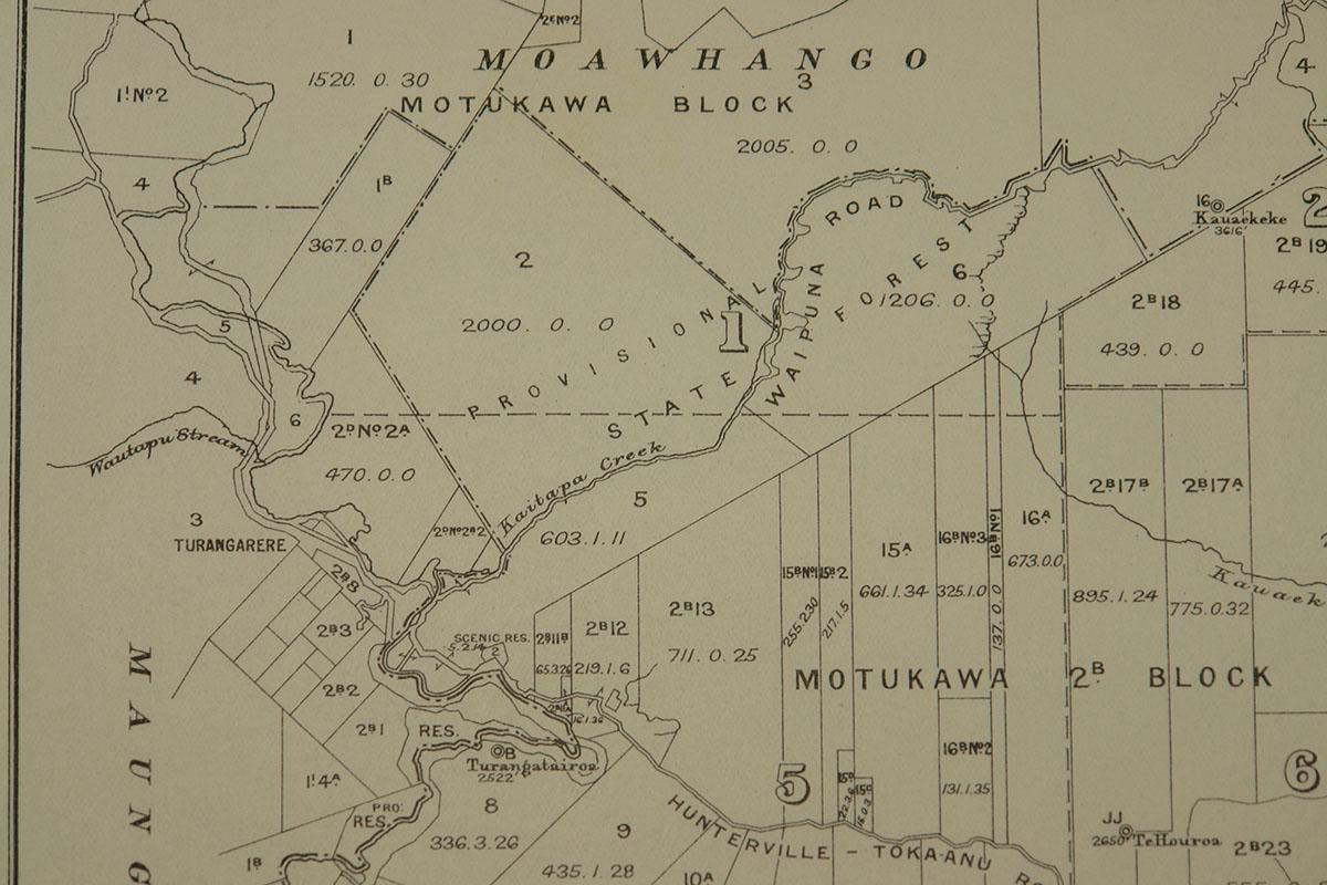Map Motukawa block