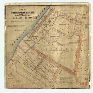 Map Putiki reserve block